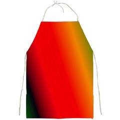 Multi Color Pattern Background Full Print Aprons