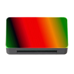 Multi Color Pattern Background Memory Card Reader with CF