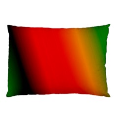 Multi Color Pattern Background Pillow Case (Two Sides)