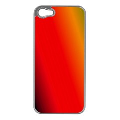 Multi Color Pattern Background Apple Iphone 5 Case (silver)