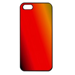 Multi Color Pattern Background Apple iPhone 5 Seamless Case (Black)