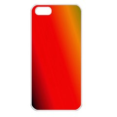 Multi Color Pattern Background Apple iPhone 5 Seamless Case (White)