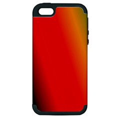 Multi Color Pattern Background Apple iPhone 5 Hardshell Case (PC+Silicone)
