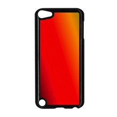 Multi Color Pattern Background Apple iPod Touch 5 Case (Black)