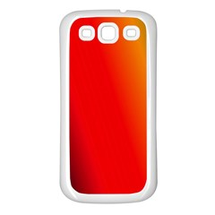 Multi Color Pattern Background Samsung Galaxy S3 Back Case (White)