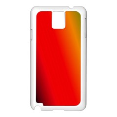 Multi Color Pattern Background Samsung Galaxy Note 3 N9005 Case (White)