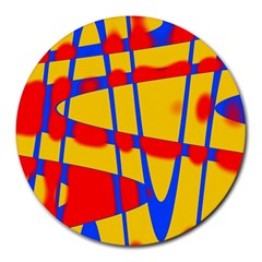 Graphic Design Graphic Design Round Mousepads