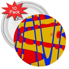 Graphic Design Graphic Design 3  Buttons (10 Pack)