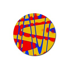 Graphic Design Graphic Design Rubber Coaster (Round)