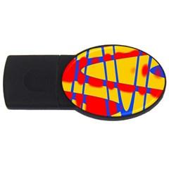Graphic Design Graphic Design Usb Flash Drive Oval (4 Gb)