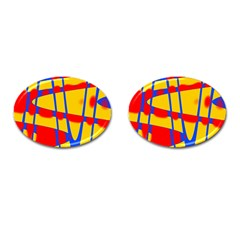 Graphic Design Graphic Design Cufflinks (oval)