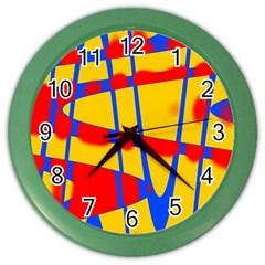 Graphic Design Graphic Design Color Wall Clocks