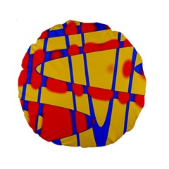 Graphic Design Graphic Design Standard 15  Premium Round Cushions