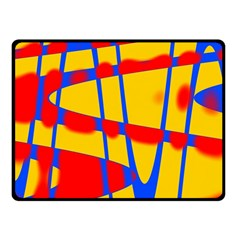 Graphic Design Graphic Design Double Sided Fleece Blanket (Small)