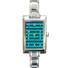 Background Texture Structure Color Rectangle Italian Charm Watch