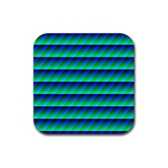 Background Texture Structure Color Rubber Coaster (Square)