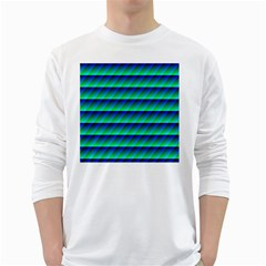 Background Texture Structure Color White Long Sleeve T-Shirts