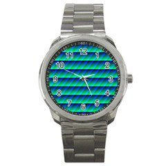 Background Texture Structure Color Sport Metal Watch