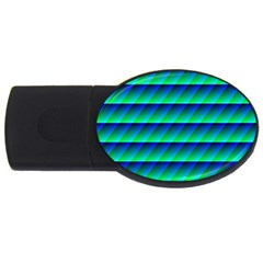 Background Texture Structure Color USB Flash Drive Oval (4 GB)