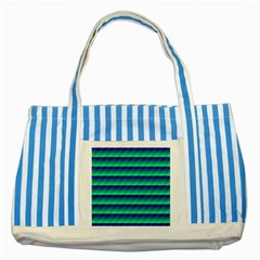 Background Texture Structure Color Striped Blue Tote Bag