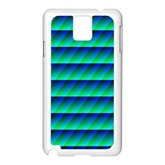 Background Texture Structure Color Samsung Galaxy Note 3 N9005 Case (White)