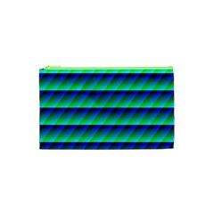 Background Texture Structure Color Cosmetic Bag (XS)