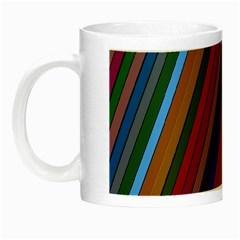 Color Stripes Pattern Night Luminous Mugs