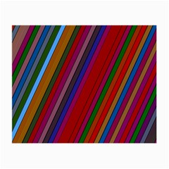 Color Stripes Pattern Small Glasses Cloth