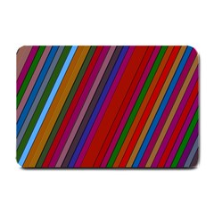 Color Stripes Pattern Small Doormat