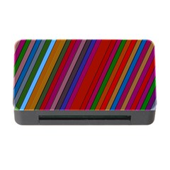 Color Stripes Pattern Memory Card Reader With Cf