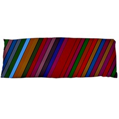 Color Stripes Pattern Body Pillow Case (Dakimakura)
