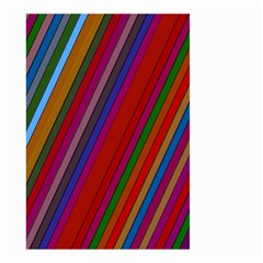 Color Stripes Pattern Small Garden Flag (Two Sides)