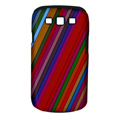 Color Stripes Pattern Samsung Galaxy S III Classic Hardshell Case (PC+Silicone)