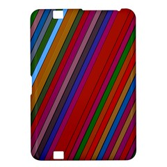 Color Stripes Pattern Kindle Fire HD 8.9