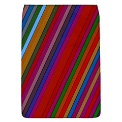 Color Stripes Pattern Flap Covers (S)