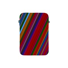 Color Stripes Pattern Apple iPad Mini Protective Soft Cases