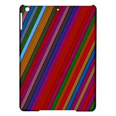 Color Stripes Pattern iPad Air Hardshell Cases