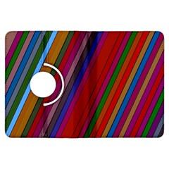 Color Stripes Pattern Kindle Fire HDX Flip 360 Case