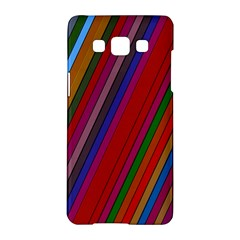 Color Stripes Pattern Samsung Galaxy A5 Hardshell Case