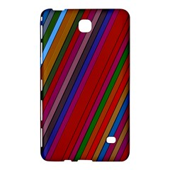 Color Stripes Pattern Samsung Galaxy Tab 4 (7 ) Hardshell Case