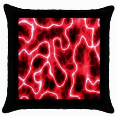 Pattern Background Abstract Throw Pillow Case (Black)