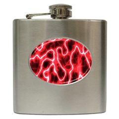 Pattern Background Abstract Hip Flask (6 oz)