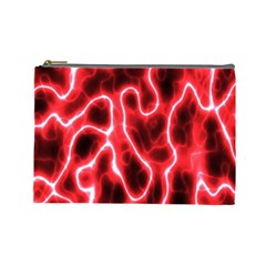 Pattern Background Abstract Cosmetic Bag (Large)