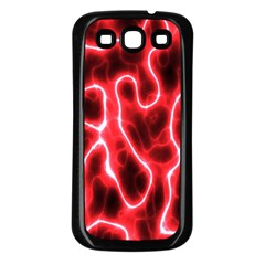 Pattern Background Abstract Samsung Galaxy S3 Back Case (Black)