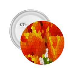 Mosaic Glass Colorful Color 2.25  Buttons
