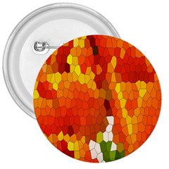 Mosaic Glass Colorful Color 3  Buttons