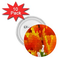 Mosaic Glass Colorful Color 1.75  Buttons (10 pack)