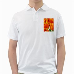 Mosaic Glass Colorful Color Golf Shirts