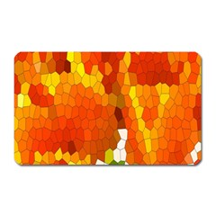 Mosaic Glass Colorful Color Magnet (rectangular)