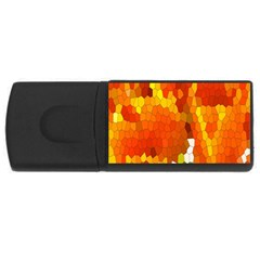 Mosaic Glass Colorful Color USB Flash Drive Rectangular (1 GB)